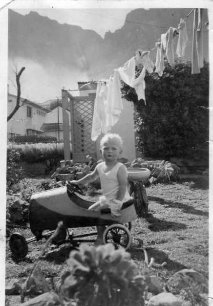 baby and pedalcar